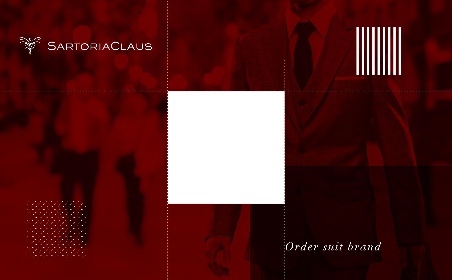 SARTORIACLAUS一流のふるまいは、一流のスーツから。